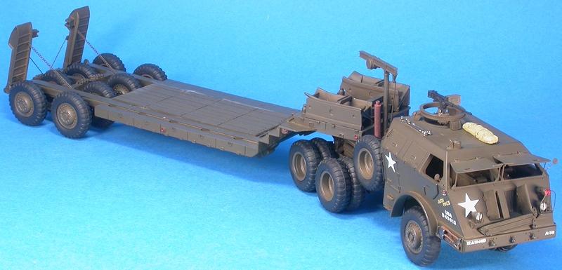 Pacific m25 porte char tank transporter for Porte char 60 tonnes